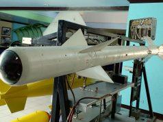 Um AIM-9B Sidewinder no Phillippine Air Force Aerospace Museum