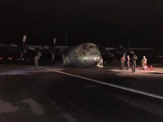 C-130 da FAB que fez pouso de emergência em Anápolis (GO)
