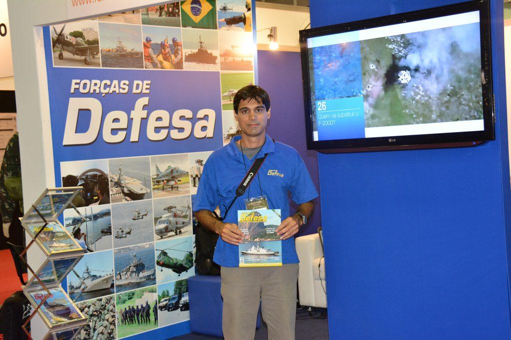 Editor Guilherme Poggio na LAAD 2013