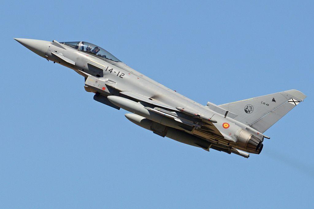 Eurofighter EF2000 Typhoon da Espanha