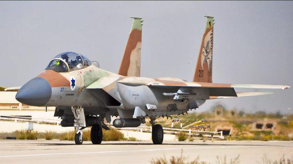 F-15I da Força Aérea de Israel