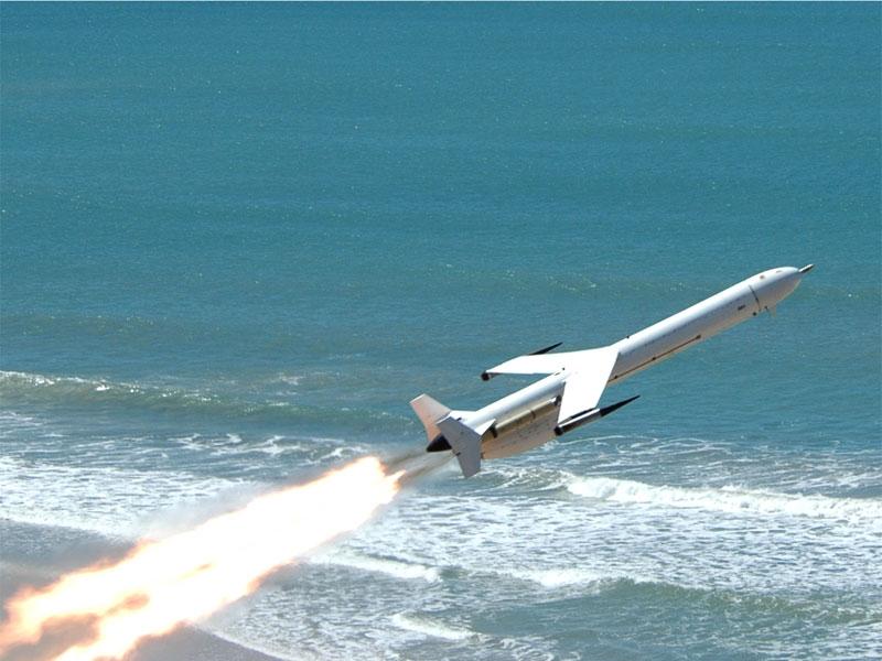 Alvo aéreo Skua, usado nos testes do A-Darter