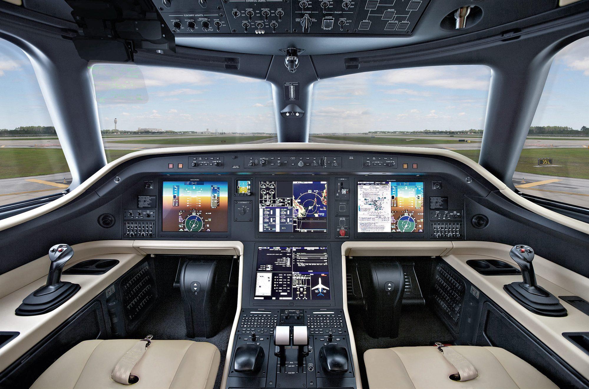 Cockpit do Praetor 500 e 600