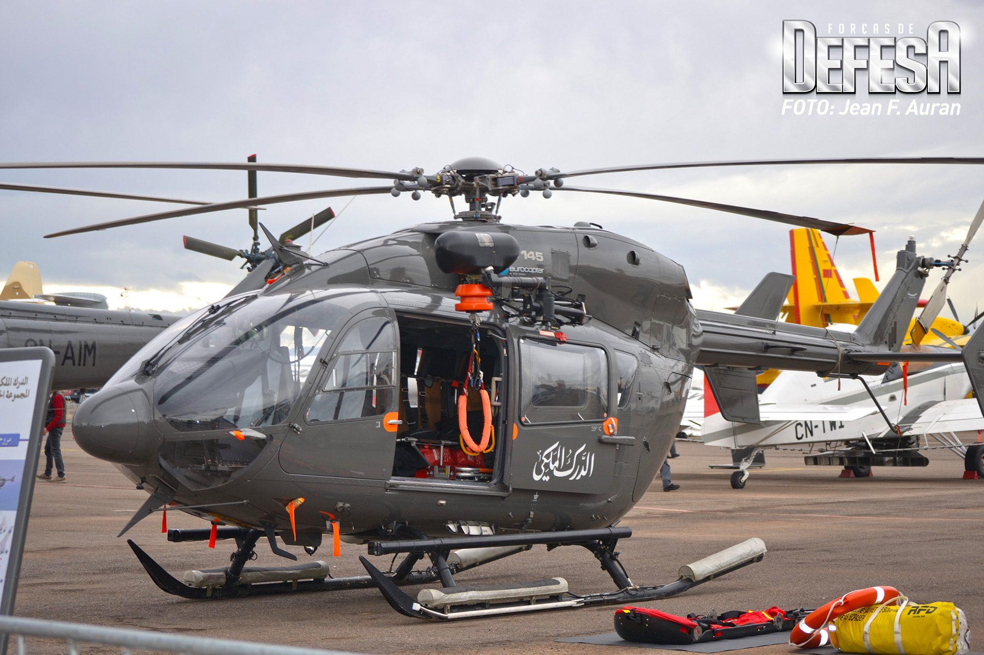 EC-145 da Gendarmerie Royale Marocaine