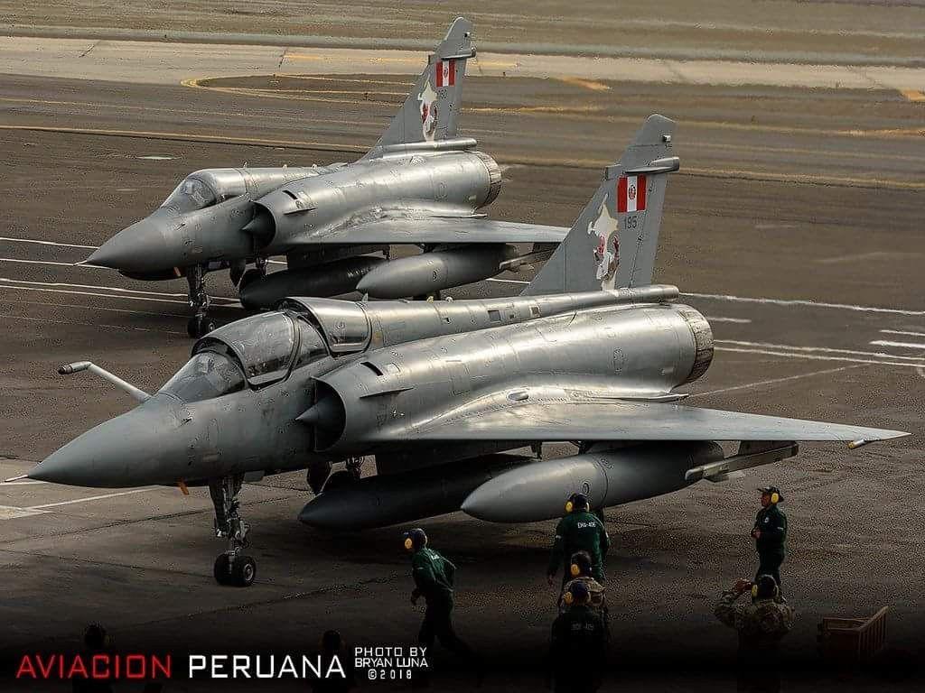 Mirage 2000 - Fuerza Aérea del Perú