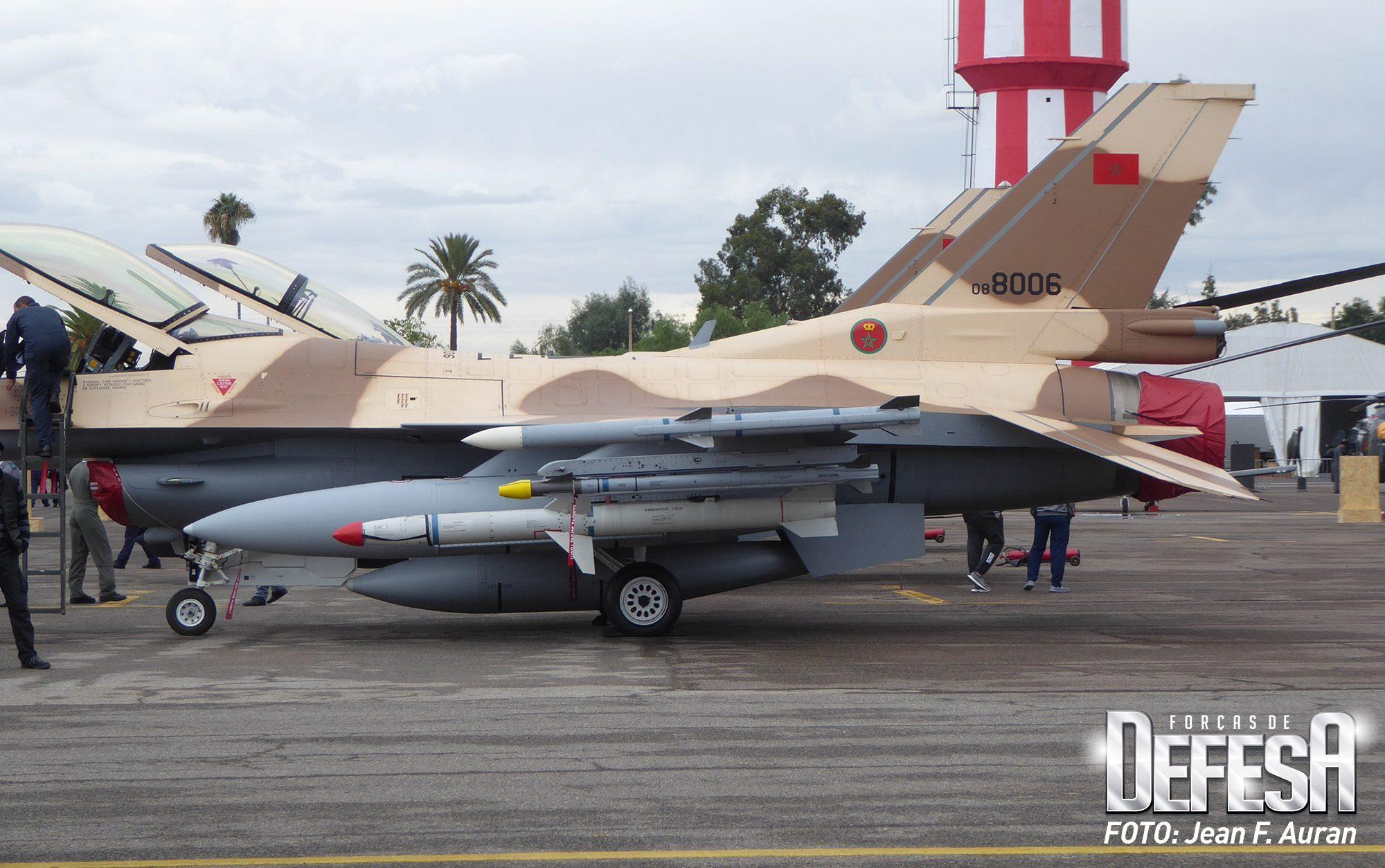 F-16 da Força Aérea do Marrocos