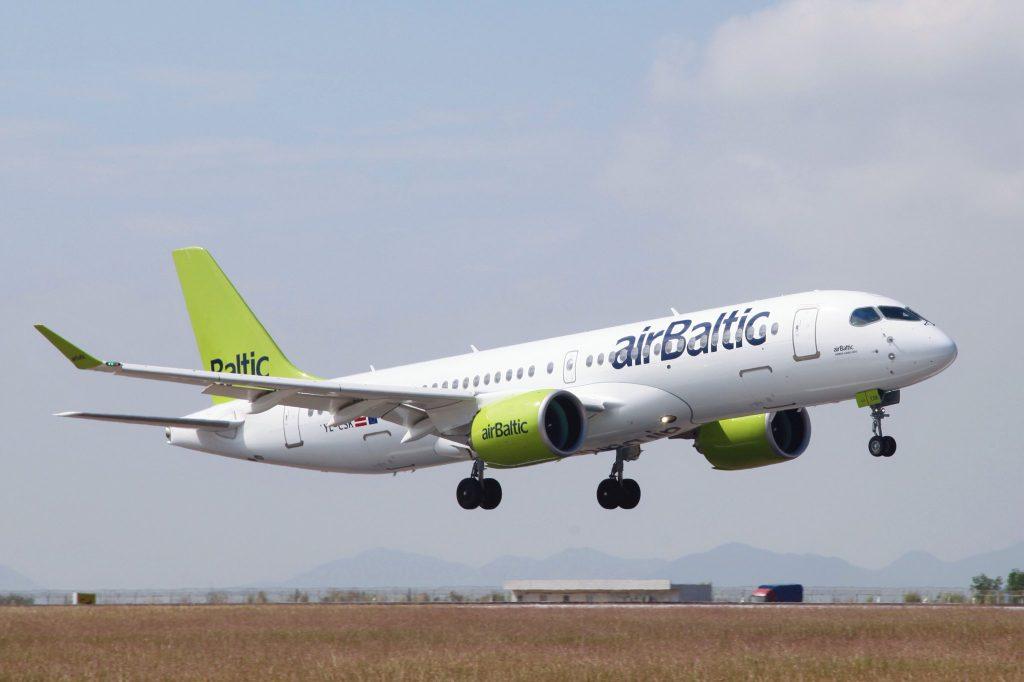 A220 da airBaltic