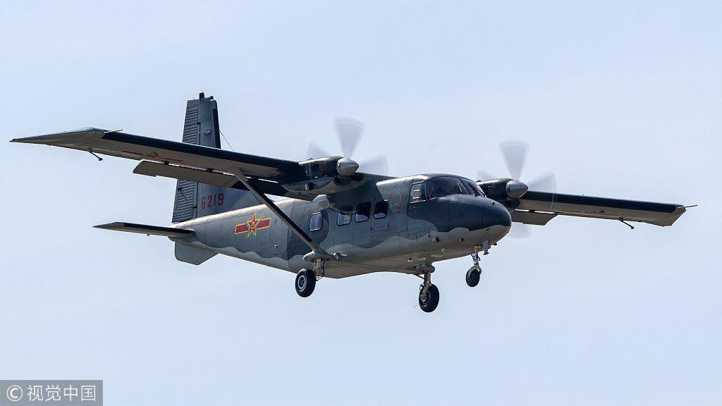 Aeronave de transporte Y-12