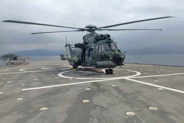 H-36 da FAB pousado no NDM Bahia