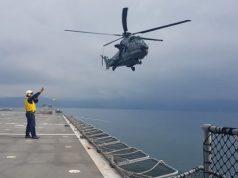 Helicóptero H-36 operando com o NDM Bahia