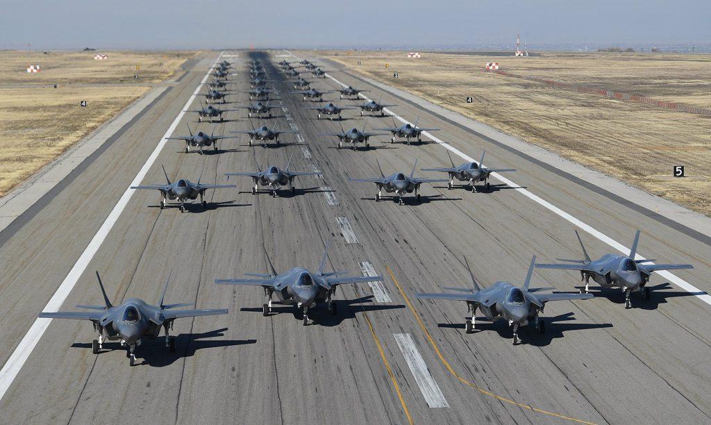 Elephant Walk de caças F-35A