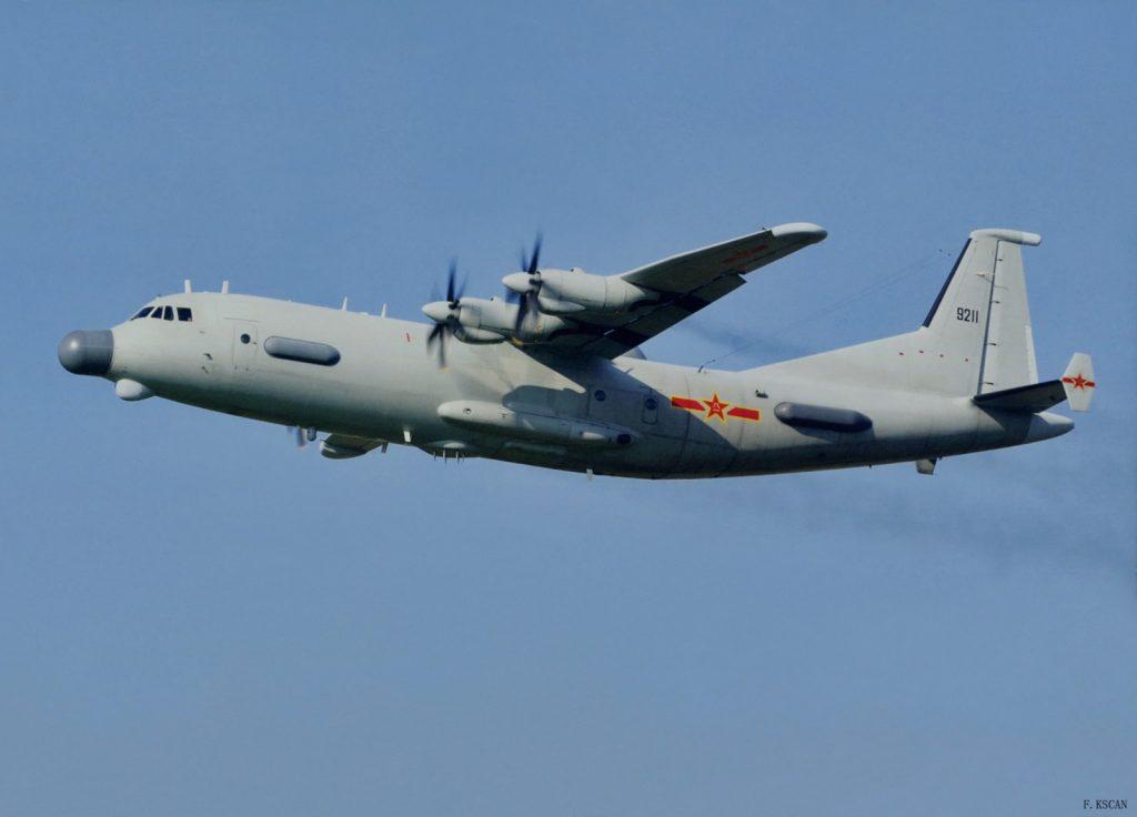 Shaanxi Y-9JB de SIGINT/ELINT