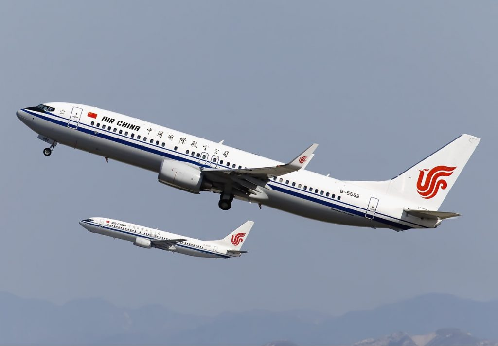 Boeing 737-800 da Air China