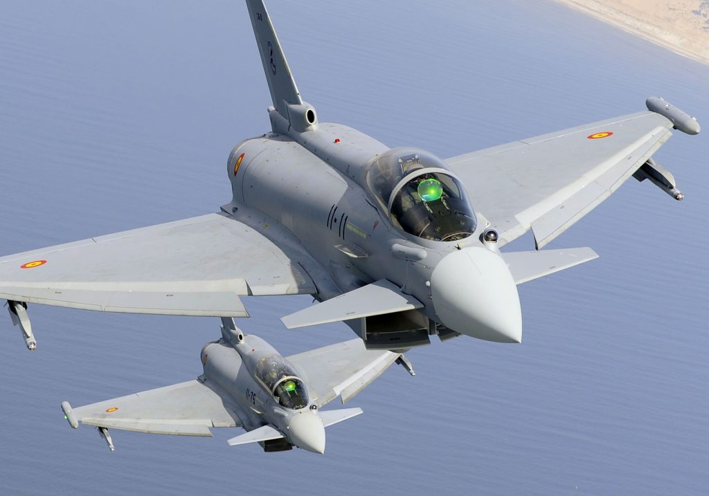 Eurofighters espanhois