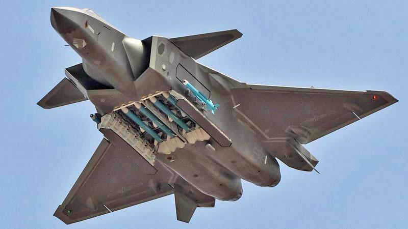 Segundo analistas, caça J-20 atualizado será 'esmagadoramente ...