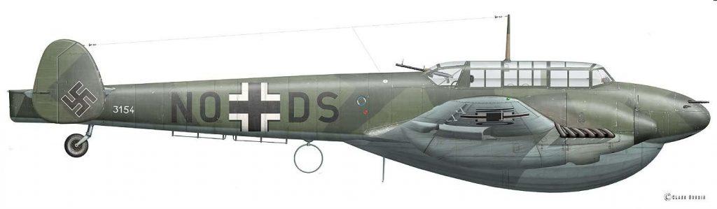 Messerschmitt Bf 110D-0