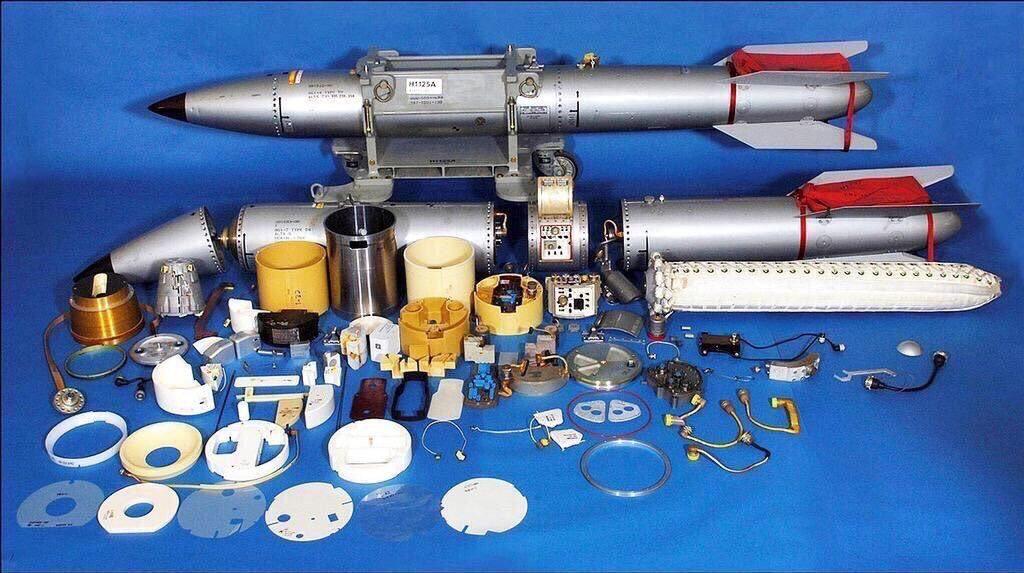 Bomba nuclear B61 e seus componentes