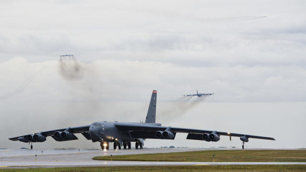 Bombardeiros B-52H Stratofortress