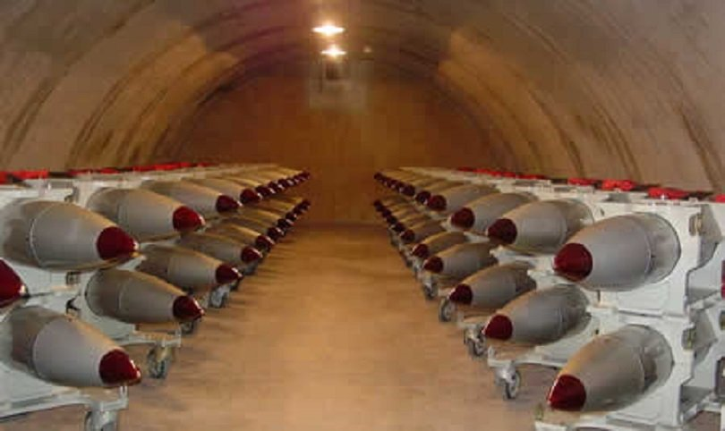 Bombas nucleares B61 estocadas