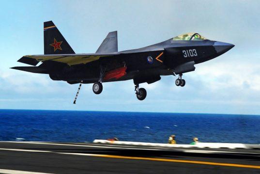 Concepção artística do FC-31 navalizado