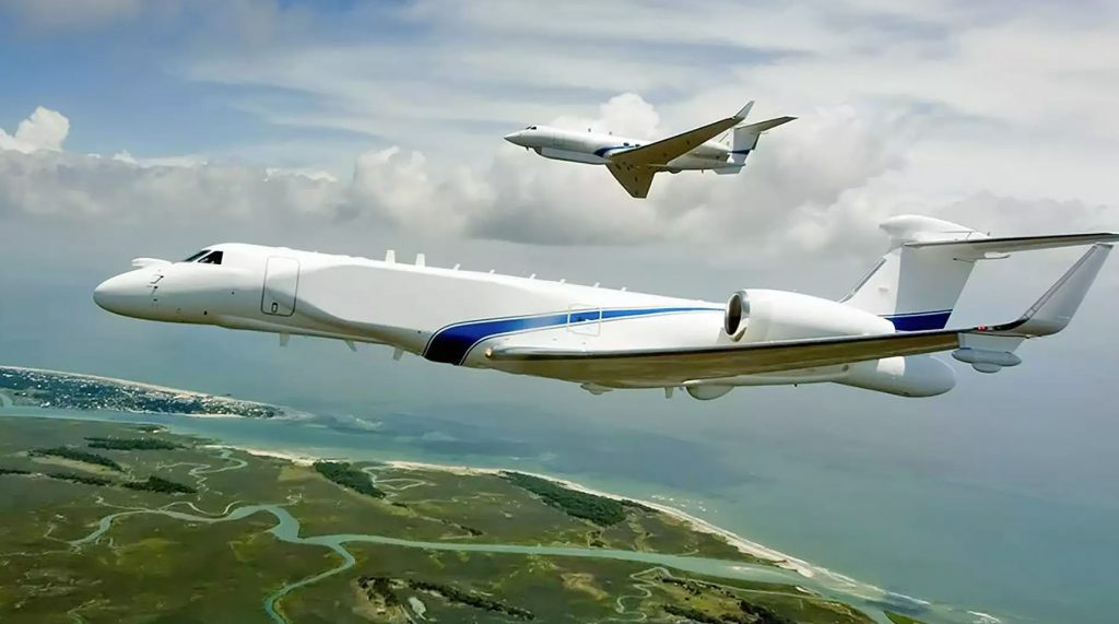 Eitam CAEW (Conformal Airborne Early Warning) e Shavit SEMA (Special Electronic Missions Aircraft)