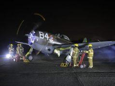 P-47 do MUSAL gira o motor