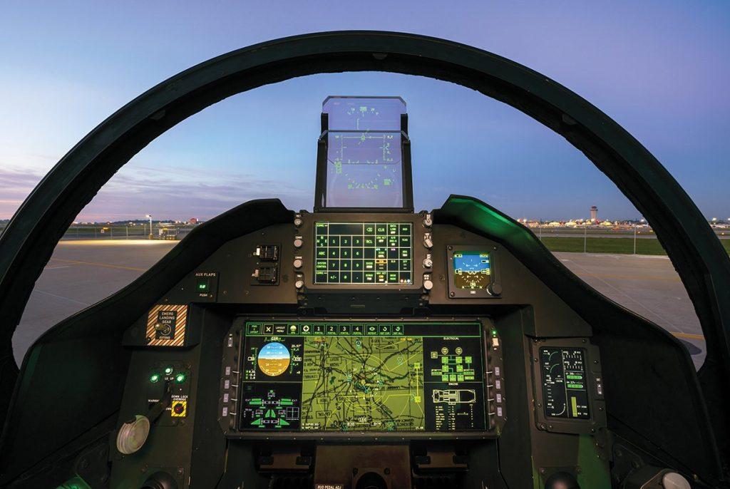 Cockpit do Boeing T-X