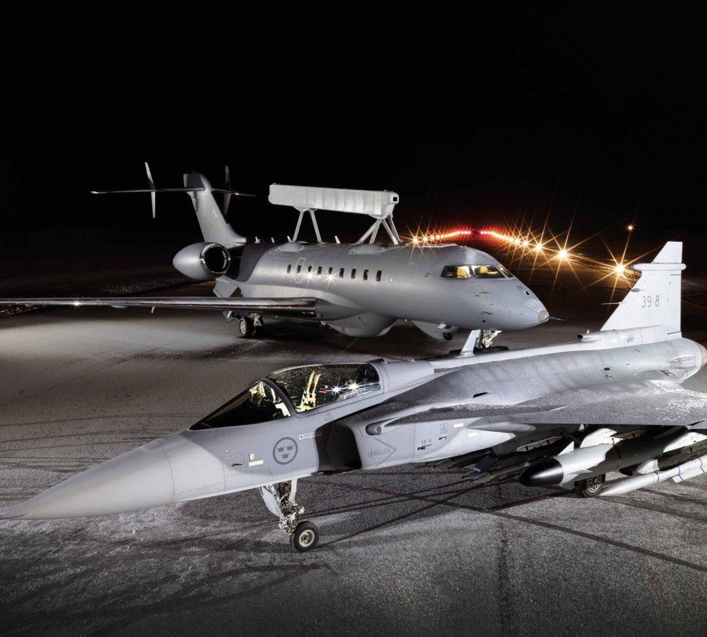 Saab Gripen E e GlobalEye