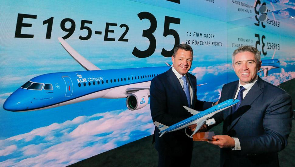 Resultado de imagen para Embraer E195E2 KLM