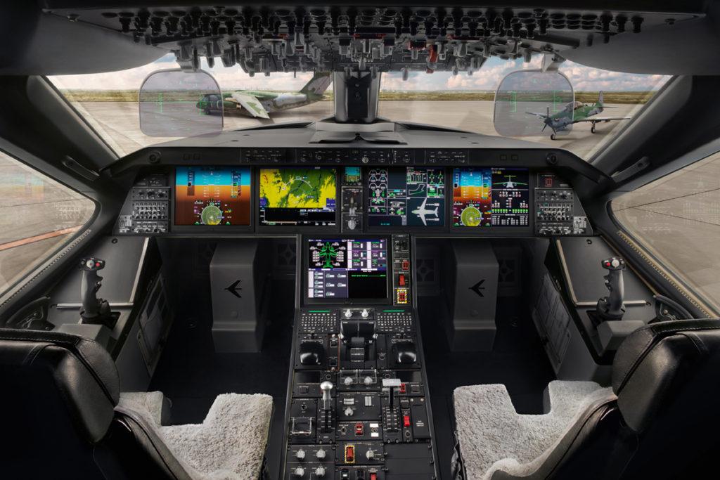 Cockpit do Embraer KC-390