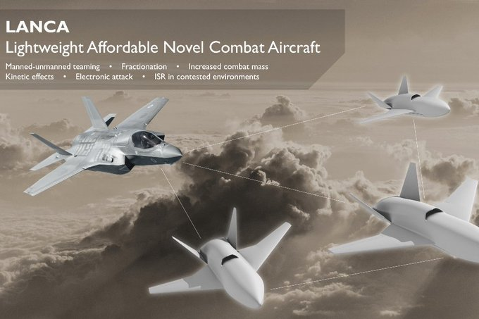 Lightweight Affordable Novel Combat Aircraft - LANCA