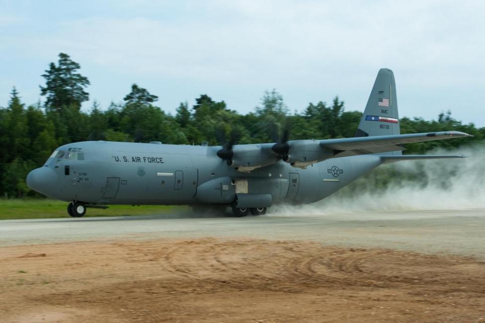 C-130 Hercules da USAF