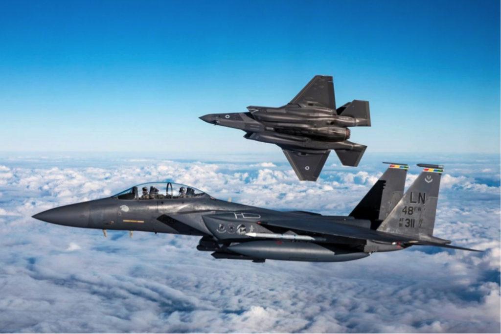 F-15E e F-35A