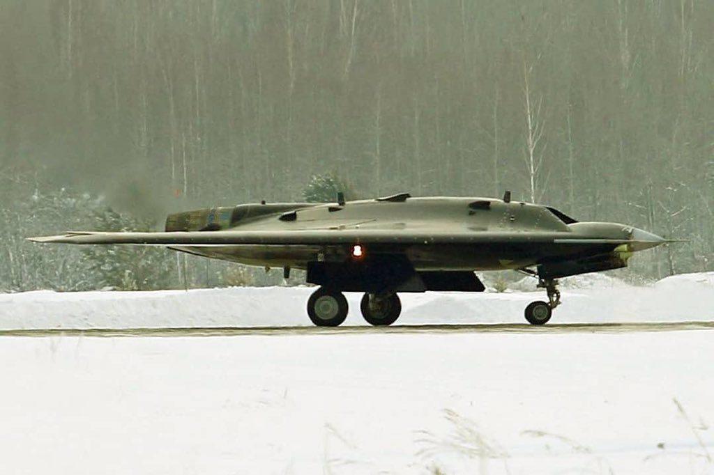 UAV Sukhoi Okhotnik-B Hunter-B