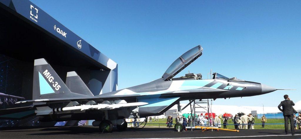 MiG-35 no MAKS 2019