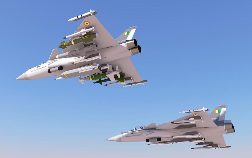 Concepção em 3D da HAL do ORCA-Omni Role Combat Aircraft, versão bimotor do MWF/LCA MK2.jpg