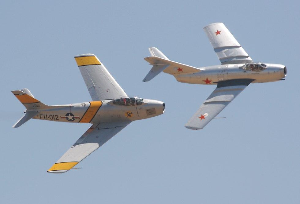 F-86 e MiG-15