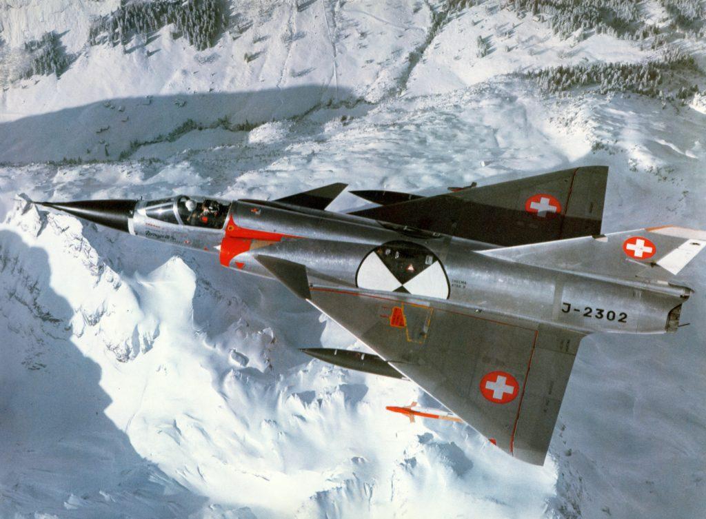 Dassault Mirage III da Suíça
