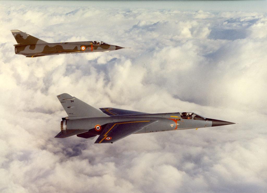 Dassault Mirage III e Mirage F1