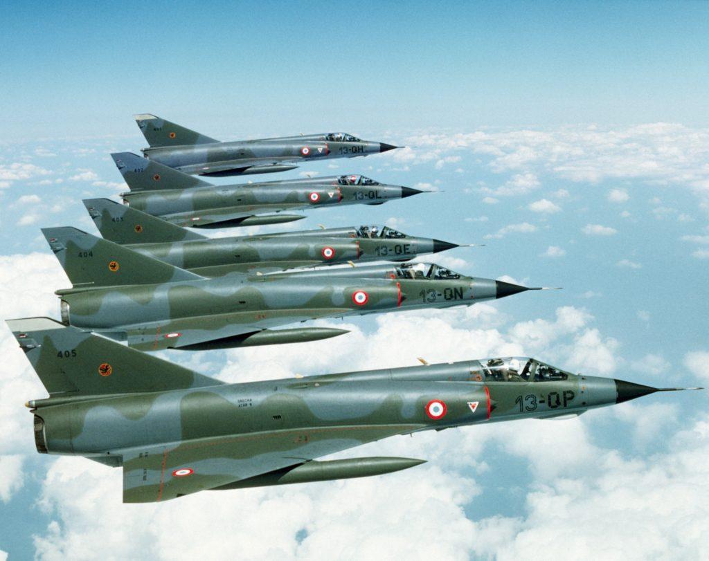 Dassault Mirage IIIE da Força Aérea Francesa
