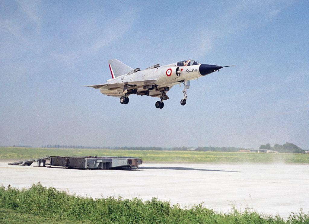 Dassault Balzac V de decolagem e pouso vertical