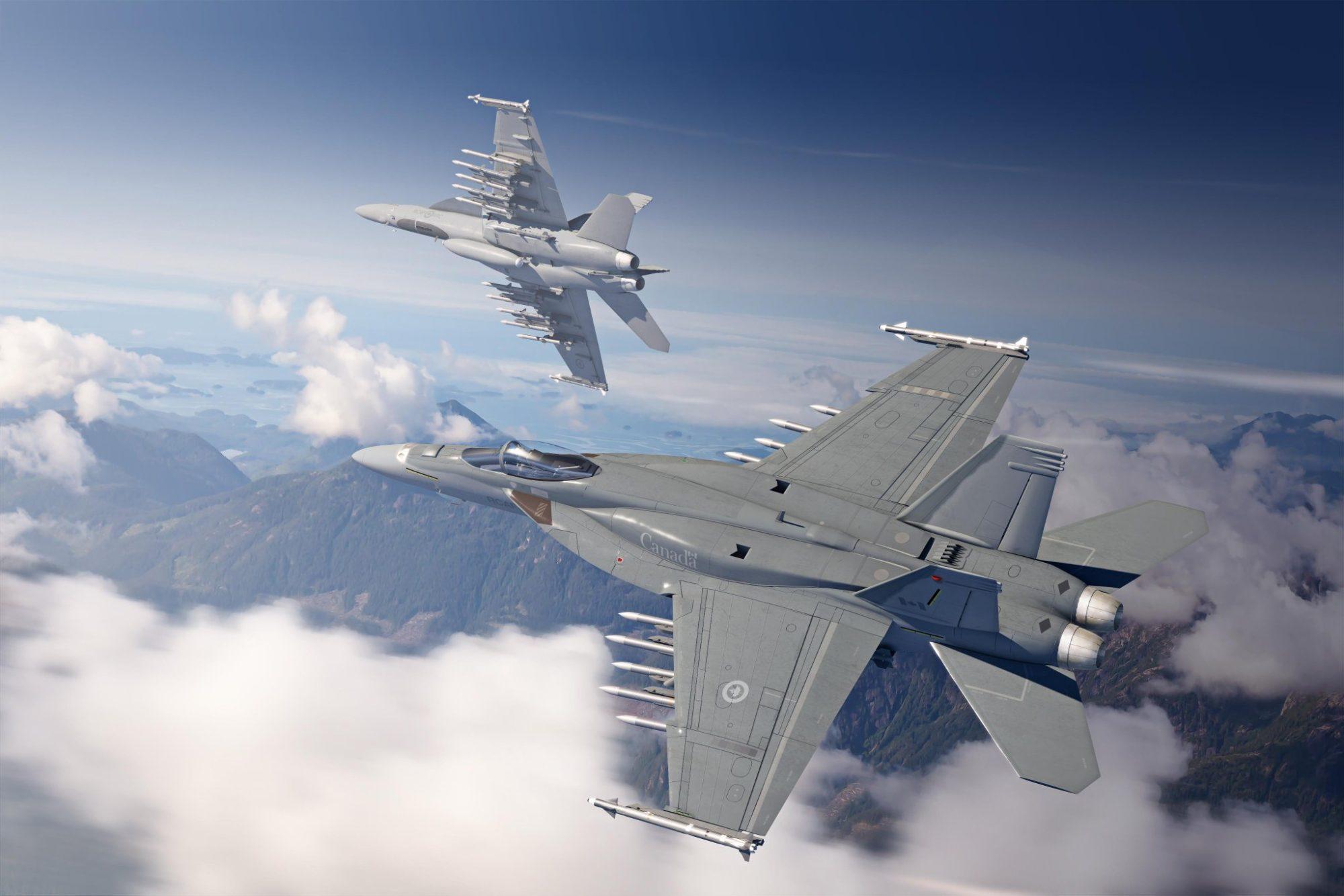 Boeing F/A-18E Super Hornet para o Canadá