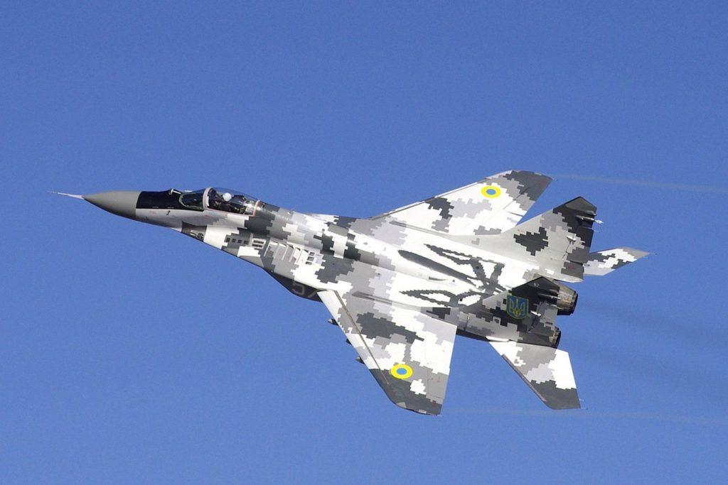 MiG-29 da Força Aérea da Ucrânia
