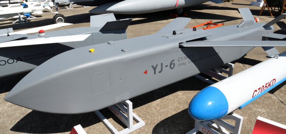 YJ-6 500kg Satellite-Guided Cargo Aerial Bomb