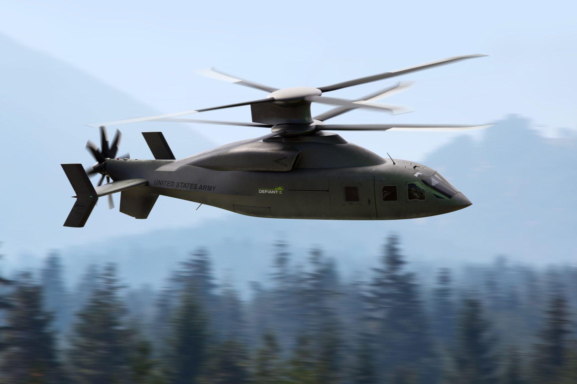 Sikorsky/Boeing DEFIANT X para o U.S. Army
