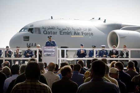 primeiro-c-17-globemaster-iii-do-qatar-foto-cerimonia