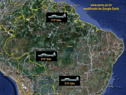 3GAV-mapa
