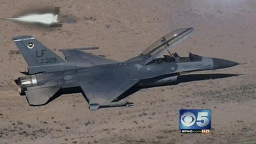 F-16 Hard landing
