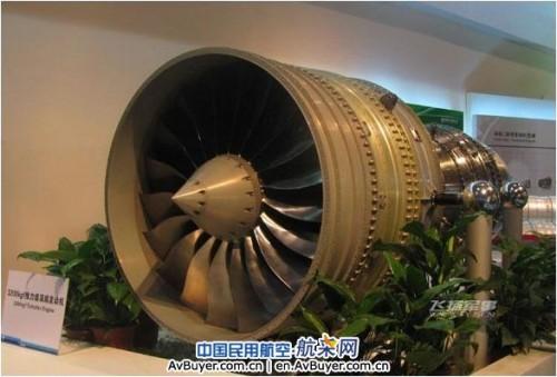 China Turbofan Engine