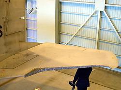 F-15J broken tail plane